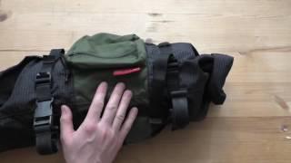 Сумка на руль. Bikepacking bag Обзор сумки  fast-n-light