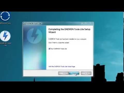 สอนลงโปรแกรม - DAEMON Tools