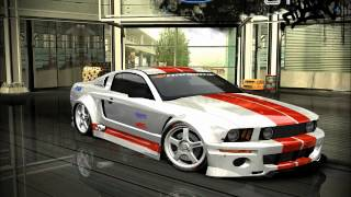 NFS Most Wanted-Tuning Ford Mustang GT