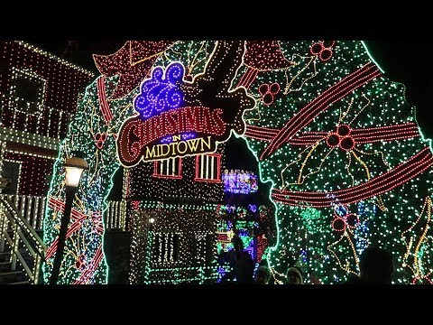 Christmas At Silver Dollar City In Branson, Missouri!! | 6 Million Christmas Lights!
