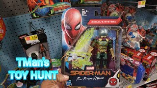 Spider-Man | Far From Home Marvel Figures | TMan's TOY HUNT #178