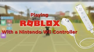 Programming a Wiimote to work on Roblox on a Win10 PC (LIVESTREAM)