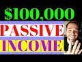 Passive Income Online 💸 (5 WAYS) To Generate $100,000 a month - How To Make Money Online (2018)