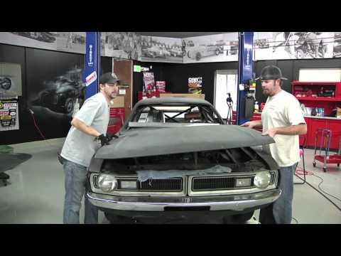 Car Craft Dodge Demon Project: Fiberglass Weight Loss