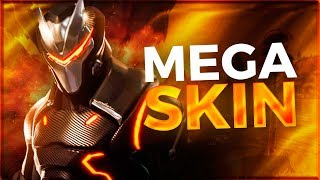 PLAYING WITH THE MEGA SKIN ''OMEGA'' FORTNITE