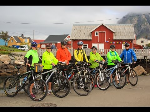 First Day of the Lofoten Islands Bike Tour - EP. #133