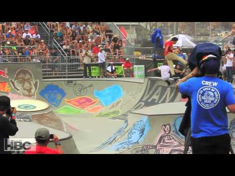 Vans US Open Of Surfing 2013 : Van Doren Skate Finals / Best Trick Finale