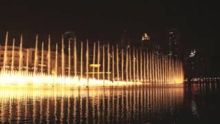 Dubai Fountain @ Night Time