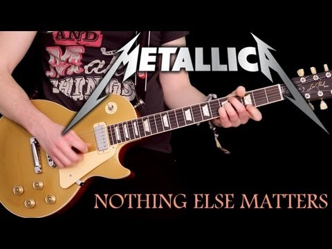 'NOTHING ELSE MATTERS'  - by Metallica - Instrumental Cover performed by Karl Golden