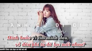 Anh Cứ Đi Đi Hari Won Karaoke