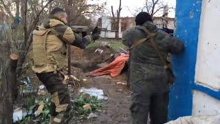 Ополчение ведет бой в Широкино. Ополчение Новороссии.