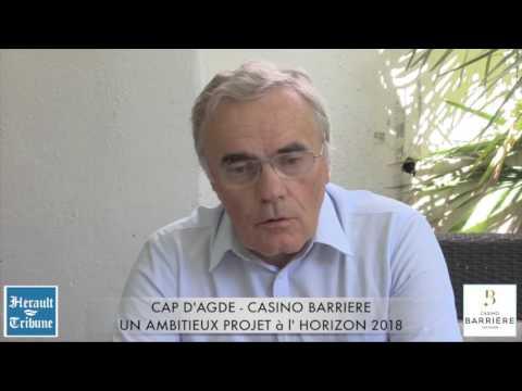 Cap d 39 agde casino barriere un ambitieux projet l 39 horizon for Projet cap d agde 2020