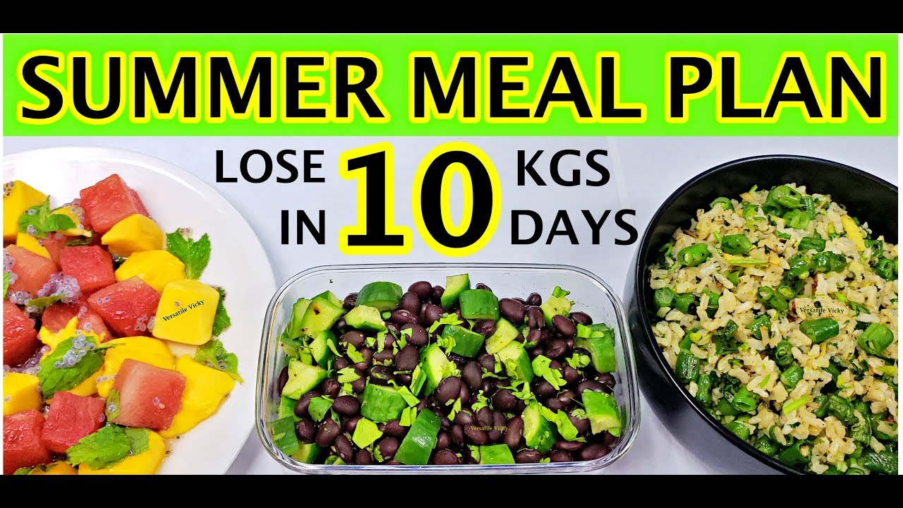 Summer Diet Plan | Summer Diet Plan For Weight Loss | How ...