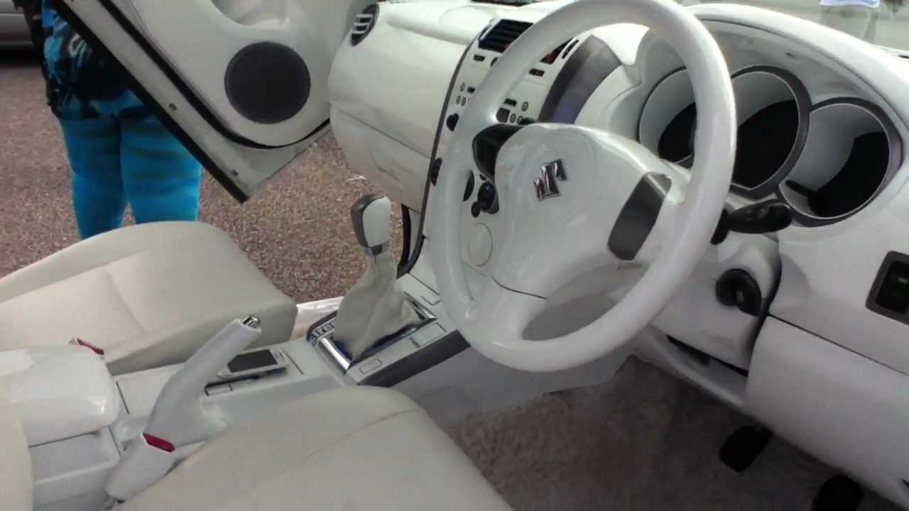 URBAN LINKZ EXOTIC SUV PIMP OUT ALL WHITE LEATHER INTERIOR - YouTube