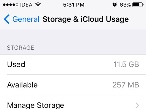 Increase iPhone Storage By Removing Junk (Remove Other Data )