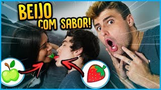 CRUSH VS CRUSH: QUAL O SABOR DO BEIJO? [ REZENDE EVIL ]