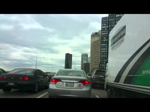 30 minutes of driving around in Chicago