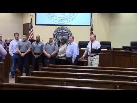 Special Recognition of Fire Rescue