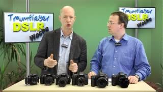 EOS 6D vs 5D III/II/7D/650D Lumix GH3/2