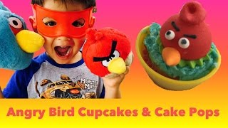 Video Easy Angry Bird Cupcake Toppers & Cake Pops - Simple Tutorial by FunPlayTV download MP3, 3GP, MP4, WEBM, AVI, FLV Agustus 2018