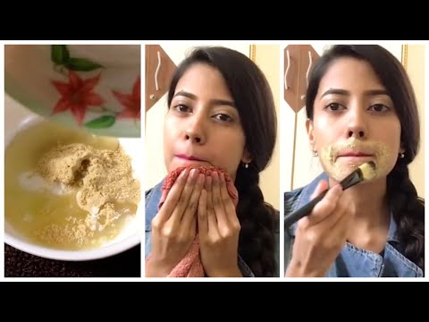 How To Remove Hair From Face Naturally Fast In Hindi