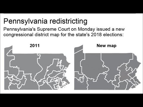 Trump Urges GOP To Fight Pennsylvania's Congressional Map | Los Angeles Times