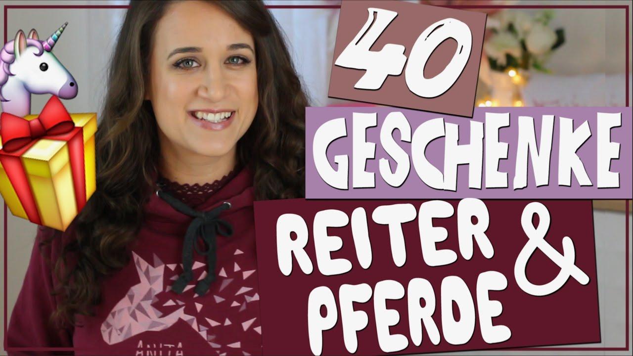 40 Geschenke für Reiter & Pferd ✮ Anita Girlietainment ♥ - YouTube