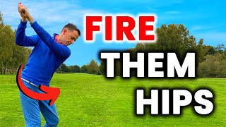 How to FIRE tнe hips in the GOLF SWING - Game Changer Move