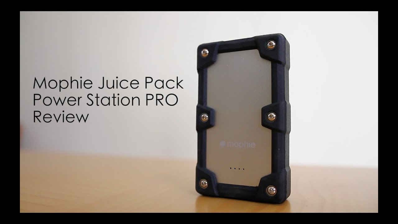 promo code 75812 e4acc Mophie Juice Pack Powerstation PRO REVIEW!