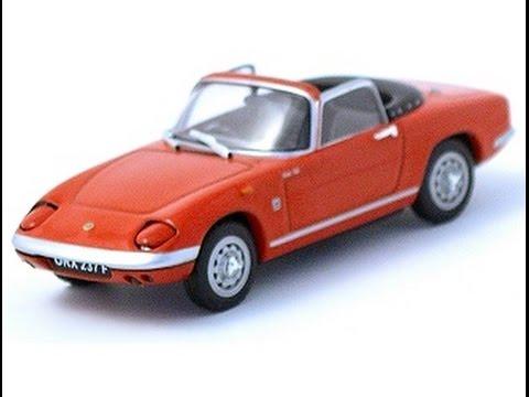 vitesse lotus elan open top 1 43 scale diecast model toy car review youtube. Black Bedroom Furniture Sets. Home Design Ideas