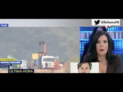 Alcalde de Totalán en televisión