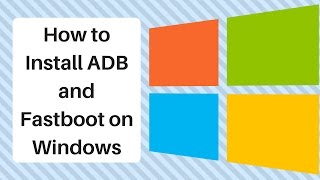 HOW TO INSTALL ADB AND FASTBOOT IN YOUR PC/LAPTOP IN 2 MINUTES[LINK IN DESCRIPTION]