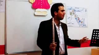 Clase Magistral de Daryl Anton sobre el Estudio de la Flauta Tranversa