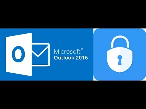 How to open encrypted email in outlook 2020
