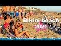4K video BEACH walk BIKINI beach Punta del Este URUGUAY 2021