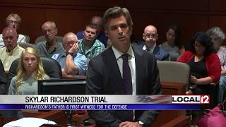 Defense presents its case in Skylar Richardson trial