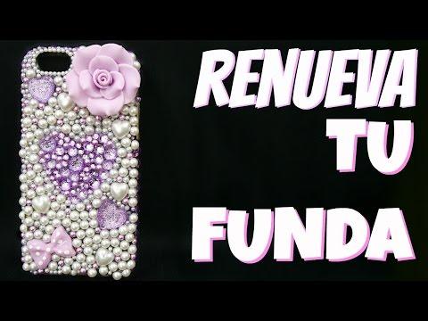 Cómo decorar funda para celular con piedras por Fantasticazul
