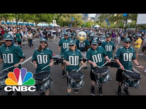 Philadelphia Eagles Hold Super Bowl Parade Cnbc