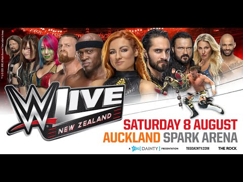 WWE Live Returns To New Zealand In 2020!