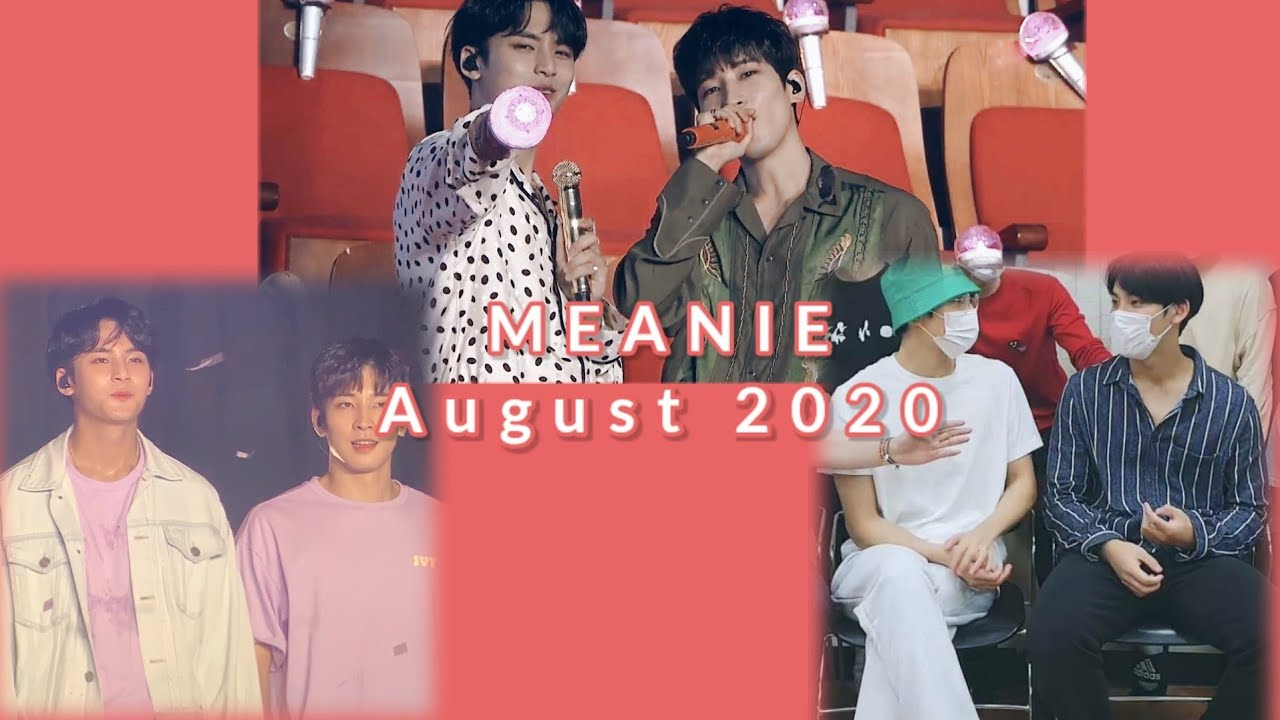 meanie moments ➳ august 2020 (민원)