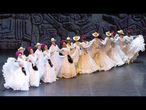 """Сюита мексиканских танцев """"Сапатео"""",""""Авалюлько"""". Балет Игоря Моисеева."""