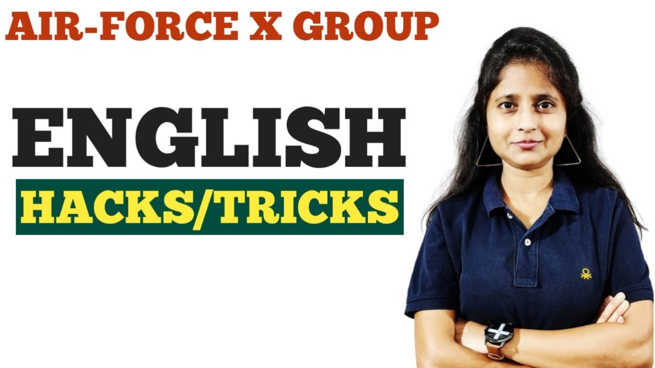 Airforce X/Y Group | English Practice Set Tricks | Airforce XY 2020 Hacks | Airforce Maths Jugad Se
