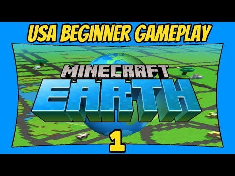 Minecraft Earth USA Gameplay   1   How To Play