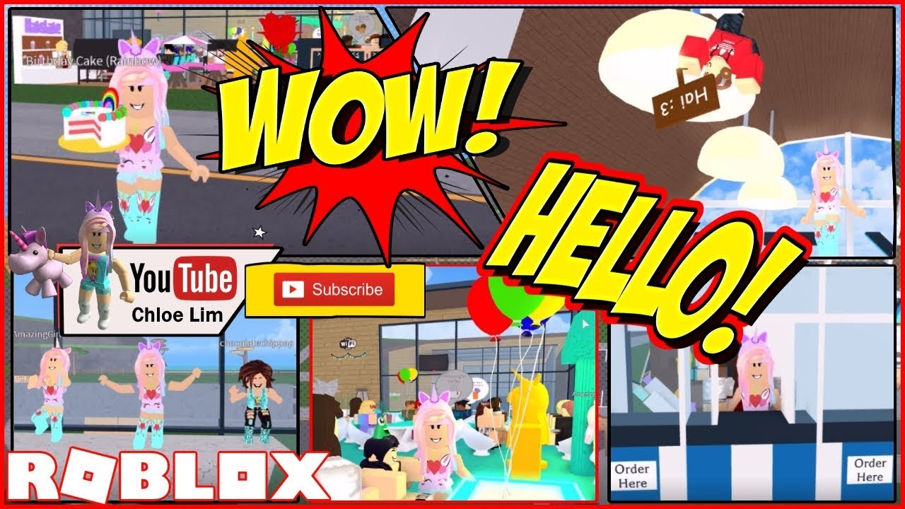 Roblox Gameplay - Restaurant Tycoon! Party Update! PARTY