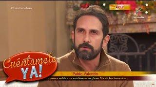 Pablo Valentin  Les Hace Una Broma A Las Conductoras   Cuéntamelo Ya!