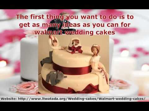 Get your walmart wedding cakes now - YouTube