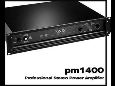 pot ncia rms carver pm1400 youtube rh youtube com Carver Stereo Components Carver Silver 9T Audio