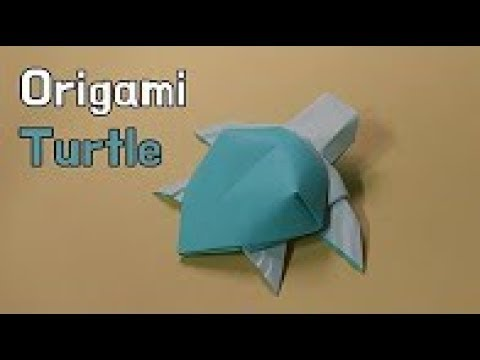 How to Make an Easy Origami Turtle | 360x480