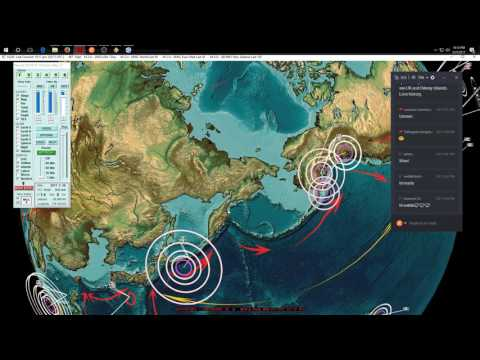 3/25/2017 -- Nightly Earthquake Update + Forecast -- New volcanic eruptions increasing suddenly