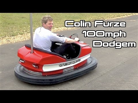 Colin furze 100mph dodgem behind the scenes